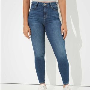 American Eagle Highest Waist Stretch Jegging Six